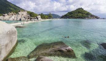 Snorkeling the pristine waters of Thailand