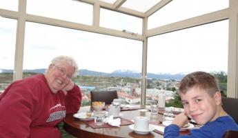 Dining in Ushuaia
