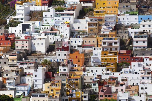 Colorful towns of the Canary Islands