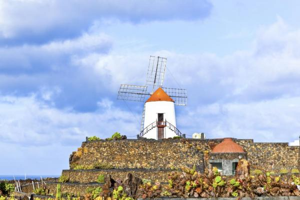 Windmill on Lanzarote
