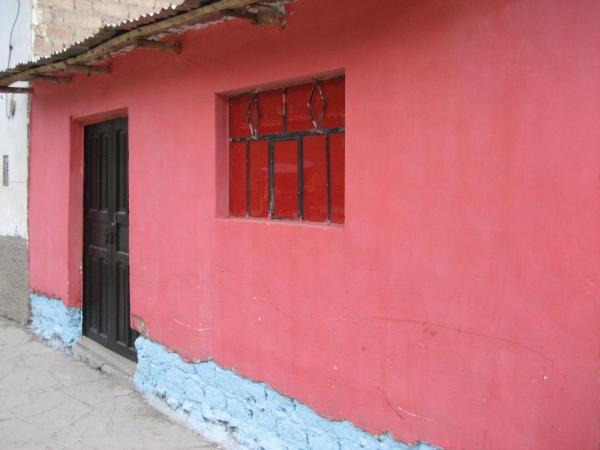 Brightly coloured Peru