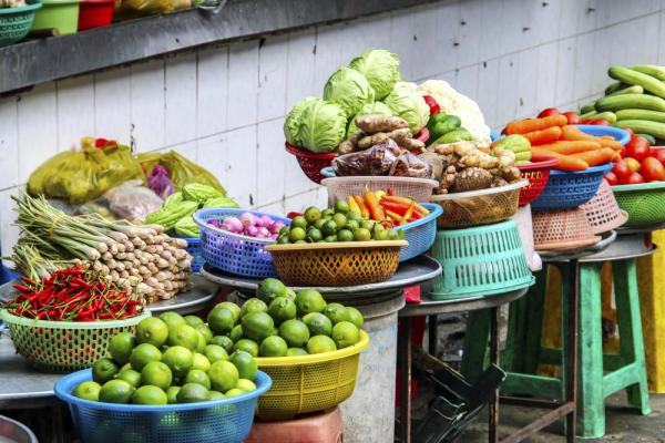 Saigon Fruit and Vegetable Market