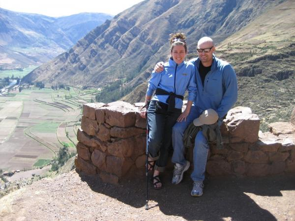 Relaxing as we make our way through the Sacred Valley