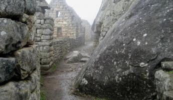 The mysterious ruins of Machu Picchu