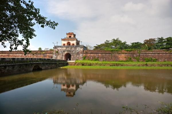 Entrance to the Hue Citadel