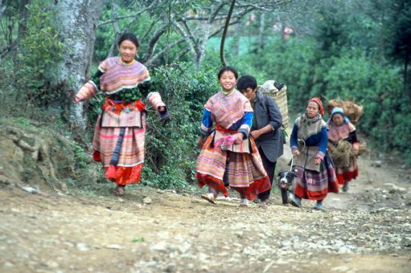 Local people in Sapa, Vietnam