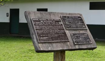 Memorial of Arenal Volcano Eruption