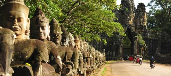 Front Gate of Angkor Thom City