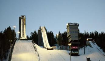 Olympic Jumping in Rovaniemi