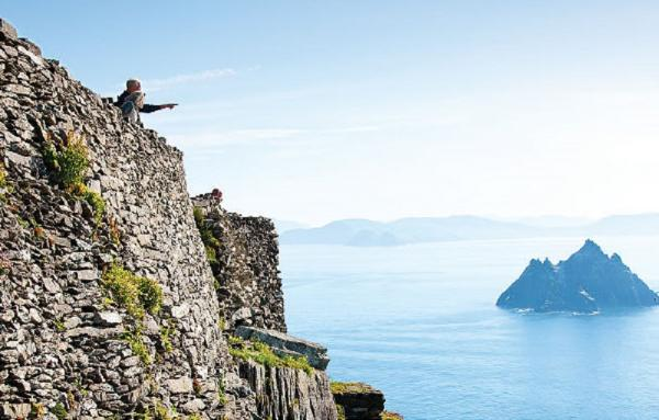 Skellig Michael boasts some of the most beautiful views in all of Ireland