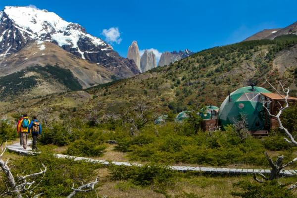 EcoCamp domes and Torres