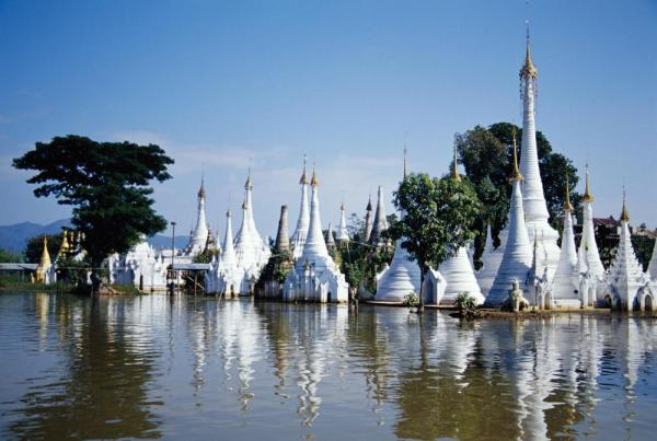 Temple at Inle Lake