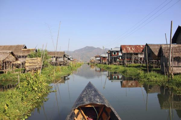 Stilt house village