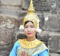 Traditional Cambodian dress