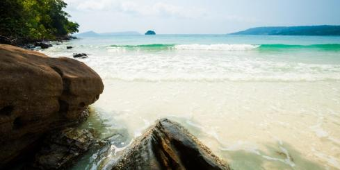 Tropical beaches of Koh Rong island