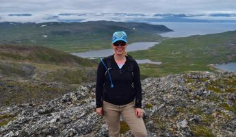 Me at Torngat Mountains National Park