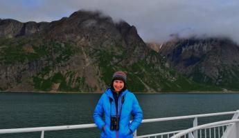 Samantha in Torngat Mountains National Park