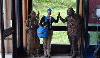 High Fives for the Vikings - L'Anse aux Meadows