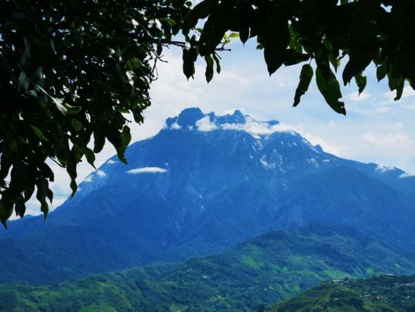 Mount Kinabalu spans six vegetation zones from lowland rainforest to alpine scrub