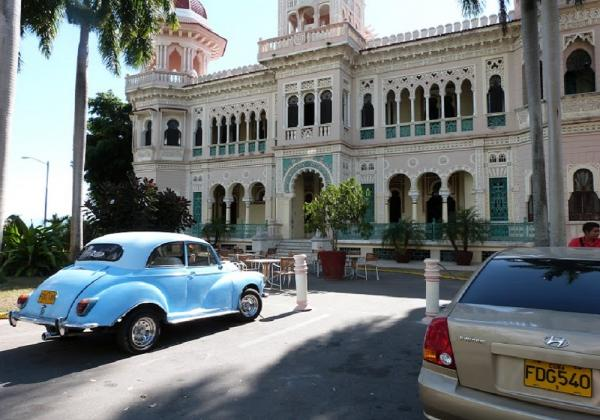 Old Building and Cars - Cuba
