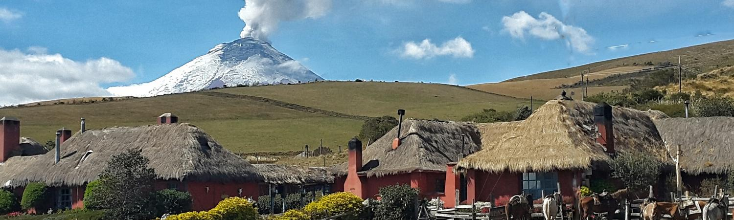 Cotopaxi volcano blows smoke, 2015