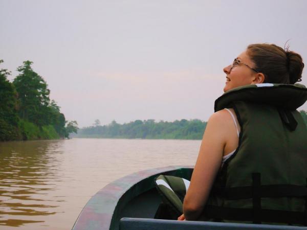 Cruising the Kinabatangan River