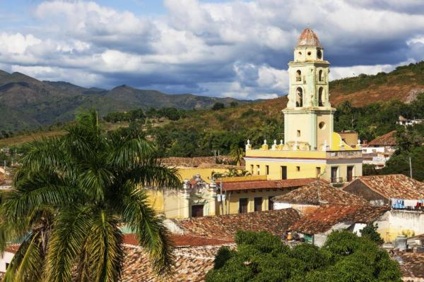 Church in Trinidad, Cuba