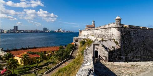 Cuba el Morro the fortress in Havana