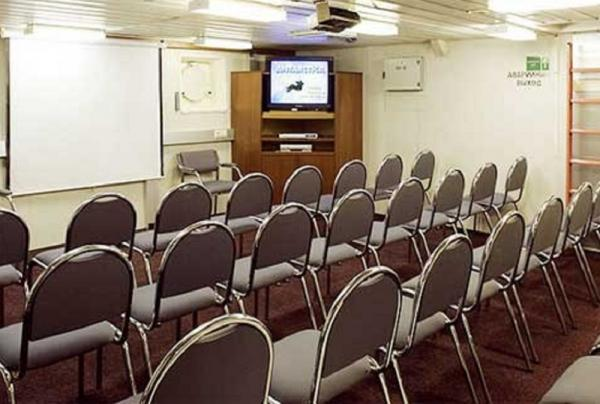 Lecture hall of the Akademik Shokalskiy