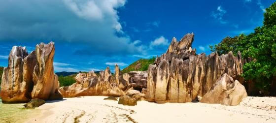 Curieuse Island in the Seychelles