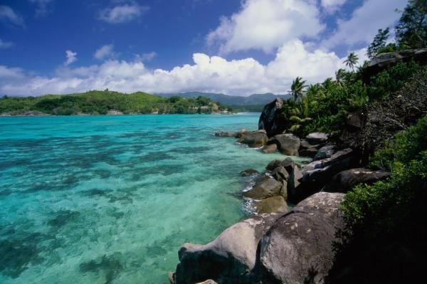 Moyenne Island in the Seychelles