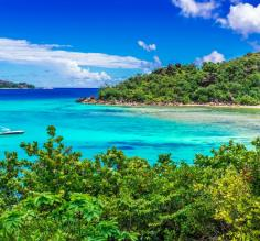 Seychelles Islands beach