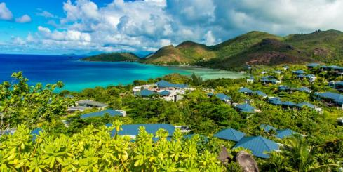 Beautiful beaches of Praslin