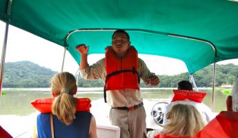 Our Gatun Lake guide
