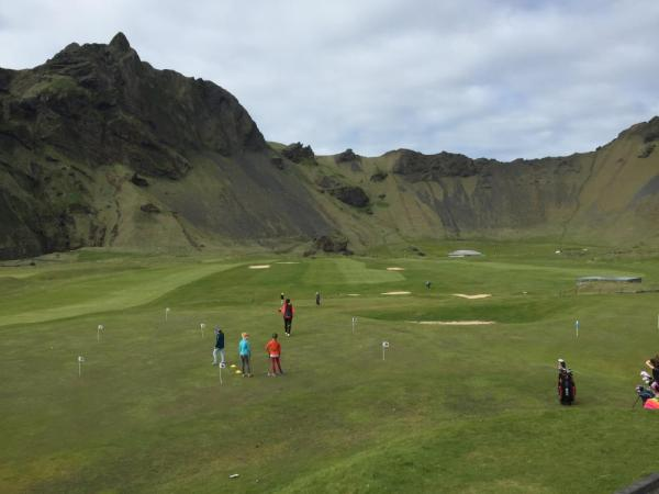 Golfing in Iceland