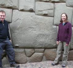 The 12 corner stone in Cusco