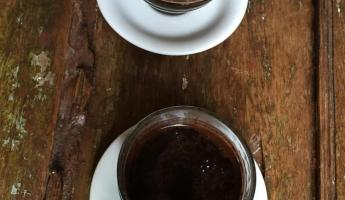 Freshly brewed Colombian coffee
