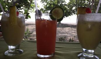Tropical drinks in Colombia