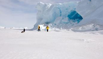 Exploring the glaciers