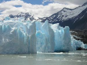 Getting up close to Glaciar Grey