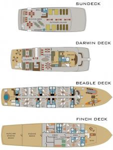 M/V Origin Deck Plan