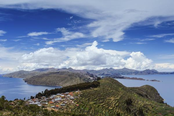 Island of the Sun. Bolivia