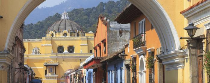 Colonial buildings in Antigua