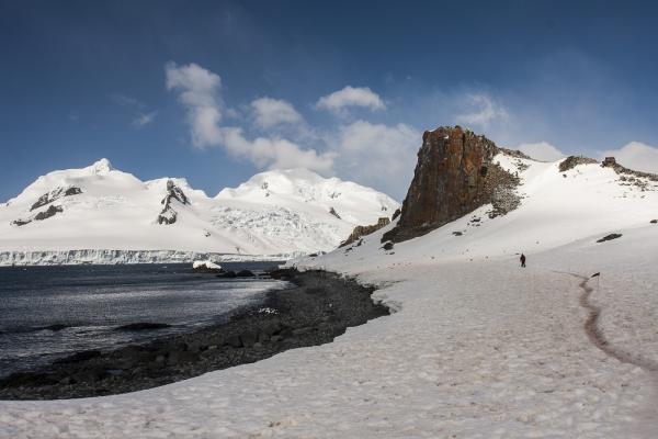 Beautiful Antarctic landscape