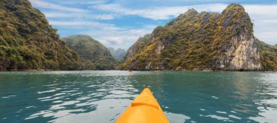 Kayaking in Southeast Asia
