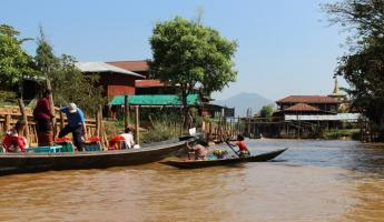 Canal of Inle Lake