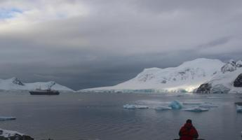 Peaceful Moment in Antarctica