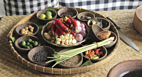 Platter of Indonesian Ingredients