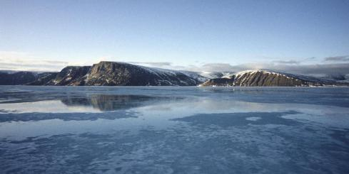First views of Baffin Island