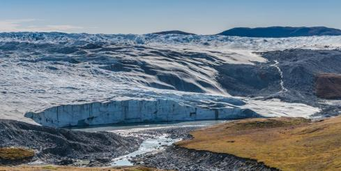 One of Greenland's many glaciers